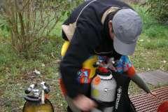 Sortie à Trélazé du 15/11/2009